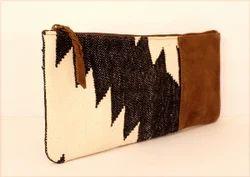 Kilim Leather Purses