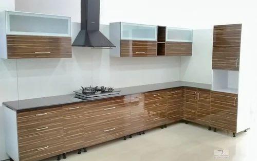 Modular Kitchen Modular Kitchen Glossy Finish Manufacturer From Mysore