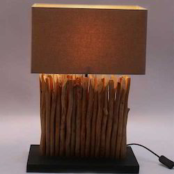 Mini Vertico Linen Table Lamp