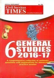 CST 6 General Studies 2016-17