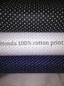 Honda 100% Cotton Print