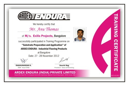 Certificate Designing Service  Industrial Training Certificate