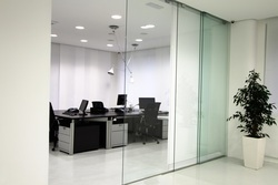 Glass Office Cabins