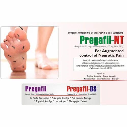 pregabalin methylcobalamin numbness in thigh