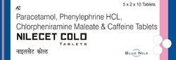 Nilecet Anti Cold Tablet