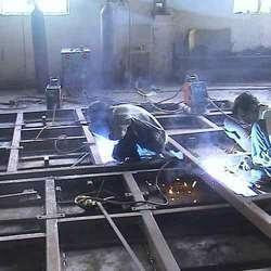 Heavy Fabrication Job Work