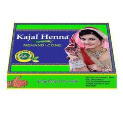 Kajal Henna Mehandi Cone Black Wrapper