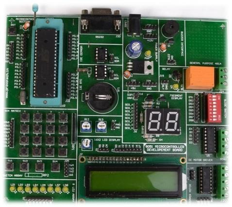 8051 Developement Board (V1)