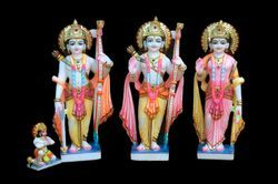 Makrana Marble Ram Darbar Set