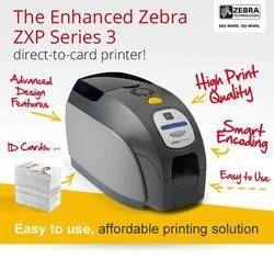 Aadhar Card Printer - Zebra ZXP 3