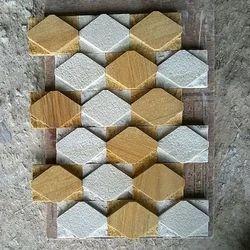 Teak Mint Mosaic Tile