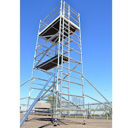 Single Width Scaffold with Stairway for Hire