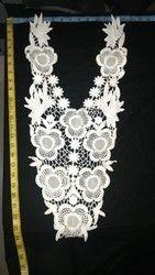Flower Pattern Neck Collar
