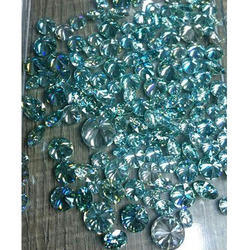Blue Natural Moissanite Diamond