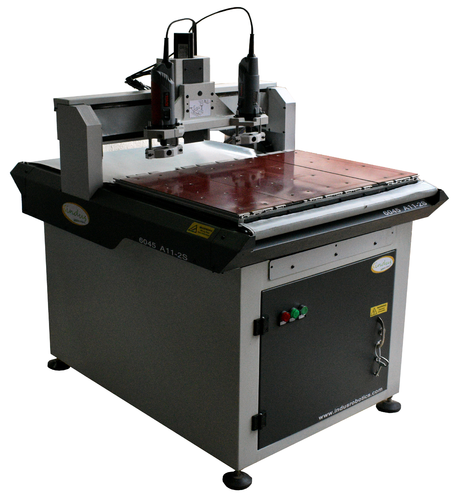 CNC PCB Drilling Machine - Double Spindle - Air Cooled