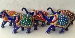 Meena Panting Elephant