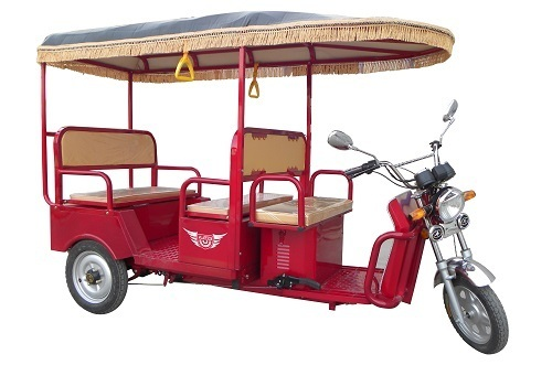 Lightweight Electric Rickshaw