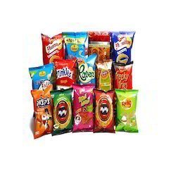 Snacks Packaging Pouches & Material