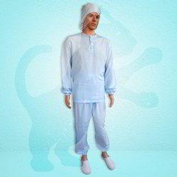 Elastic Design Cleanroom Primary Garment