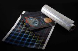 Cold lamination Holographic Films For Printed Papers