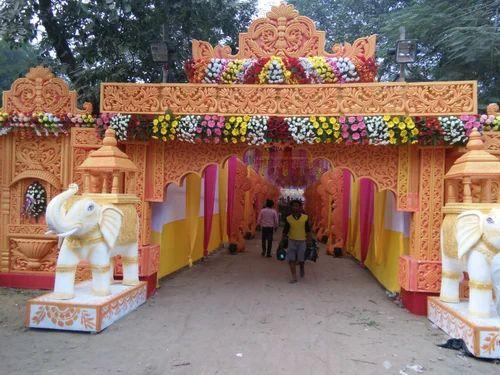 Marriage Garden Flower Decoration Service
