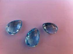 Natural Blue Topaz Gemstones