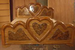 Wooden Double Cot