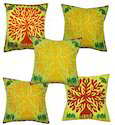 Cut Work Printed Cushion Covers