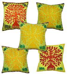 Cut Work Printed Cushion Covers