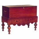 Mahogany Chest on Stand