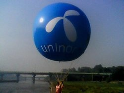 Balloon Advertisement