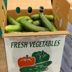 Vegetable Corrugated Box