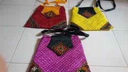 Kutchi Embroidered Flap Bag