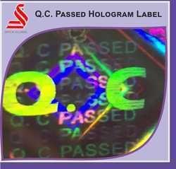 Q.C.Passed Hologram Label