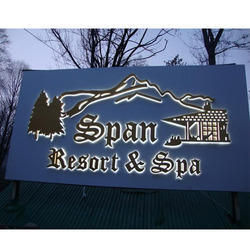 Resort Sign Board