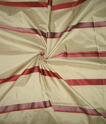 Taffeta Satin Stripe Fabric