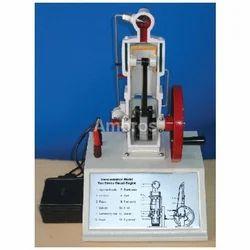 2 Stroke Diesel Engine Working Model