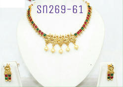 Stone Lakshmi Necklace