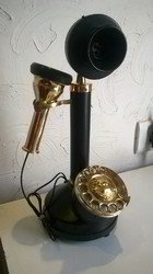 Antique Gandhi Design Telephone