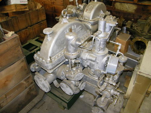 Used Steam Turbine