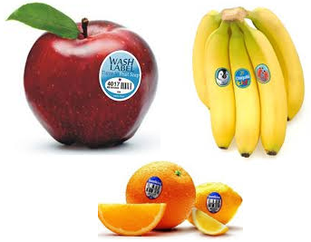 Fruits Labels