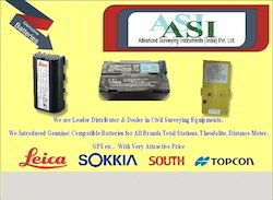 Total Station Battery & Charger Accessories