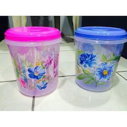 Airtight Container With Foil Printed