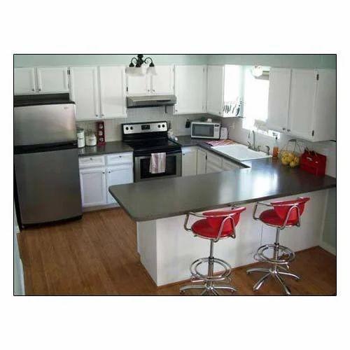 U Shaped Modular Kitchen Service