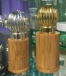 Wooden Glass Rollon Bottle