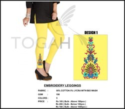 Embroidery Leggings
