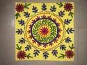 Colourful Embroidery Designer Suzani Cushion Cover