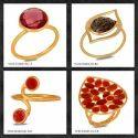 Natural Gemstone Silver Rings