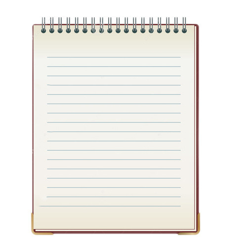 writing notepad spiral writing notepad manufacturer from new delhi