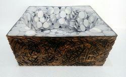 Prayosha Trunk White Pebbles Washbasin